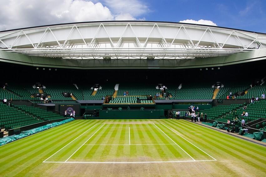 The,Stadium Of Wimbledon Tennis
