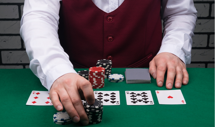 First time playing poker online?