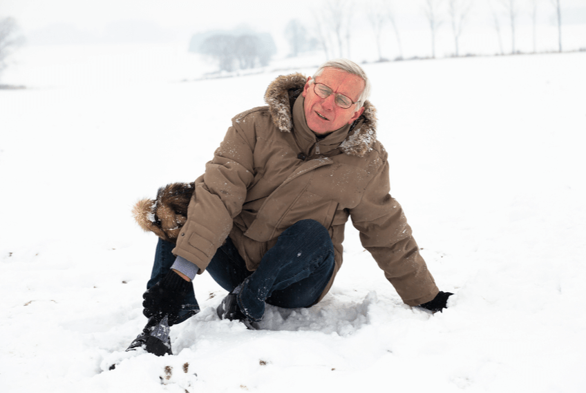prevent falls on ice and snow