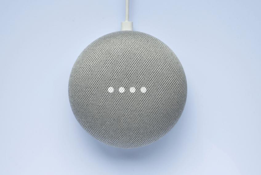 Google Home Smart Speaker gadget for seniors