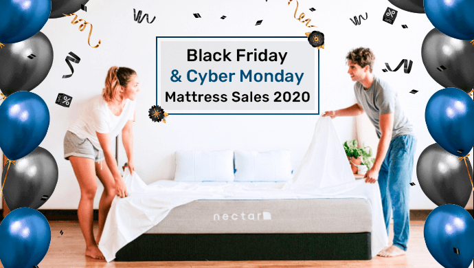 black friday cyber monday mattress sales 2020